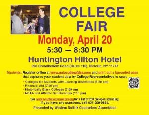 Suffolk College Fair - Long Island Regents Prep - Long Island SAT Prep - Long Island AP Prep
